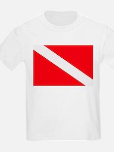 Cute Dive flag T-Shirt