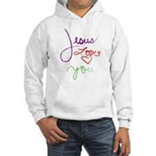 Jesus Loves you but im his fa Hoodie