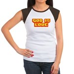 God Is Love T-shirts & Gifts Women's Cap Sleeve T-