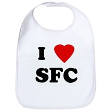 I Love SFC Bib