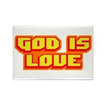God Is Love T-shirts & Gifts Rectangle Magnet (100