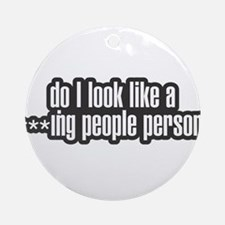 PEOPLE PERSON Ornament (Round)