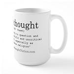 Thinker Large Mug