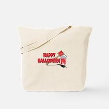 HAPPY HALLOWEEN (axe) Tote Bag