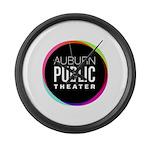 Auburn Public Theater Large Wall Clock