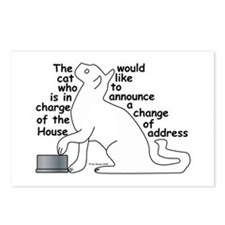 One cat moving... Postcards (Package of 8)