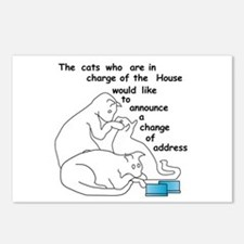 Cats moving... Postcards (Package of 8)