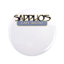 "Sappho's Cafe-Bistro 3.5"" Button"