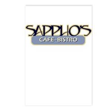Sappho's Cafe-Bistro Postcards (Package of 8)