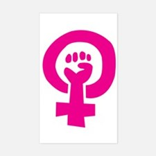Feminist Pride Rectangle Decal