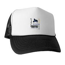 Piano Word Art Trucker Hat