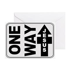 One Way Jesus Christmas Cards (Pk of 10)