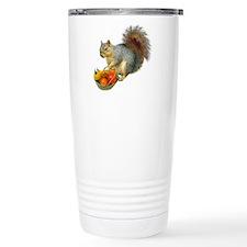 Squirrel Tomato Basket Travel Mug