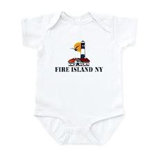 Fire Island Infant Bodysuit