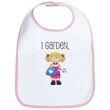 I Garden Girls Bib