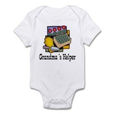 Grandma's Helper Gardening Infant Bodysuit