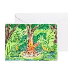 Dragonfire Greeting Card