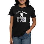 Women's Dark T-Shirt Finland Perkele