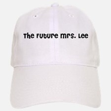 The Future Mrs. Lee Baseball Baseball Cap