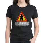 Women's Dark T-Shirt Metalhead warning