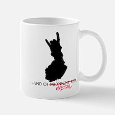 Mug Land of Metal