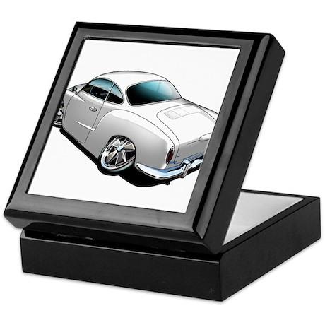 Karmann Ghia White Keepsake Box