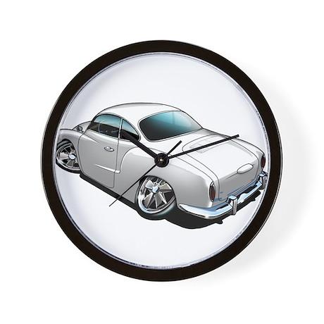 Karmann Ghia White Wall Clock