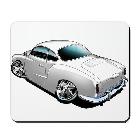 Karmann Ghia White Mousepad