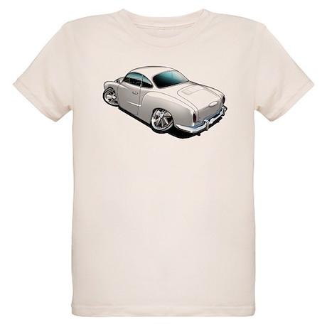 Karmann Ghia White Organic Kids T-Shirt
