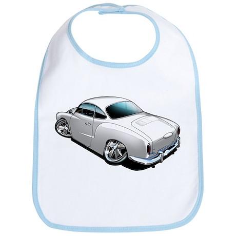 Karmann Ghia White Bib