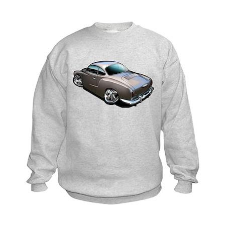 Karmann Ghia Brown Kids Sweatshirt