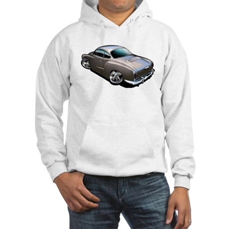 Karmann Ghia Brown Hooded Sweatshirt