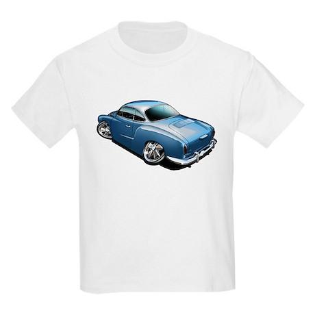 Karmann Ghia Blue Kids Light T-Shirt