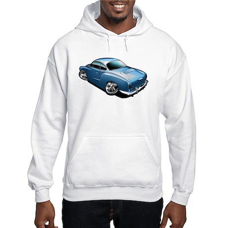 Karmann Ghia Blue Hooded Sweatshirt