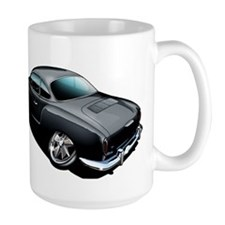 Karmann Ghia Black Mug