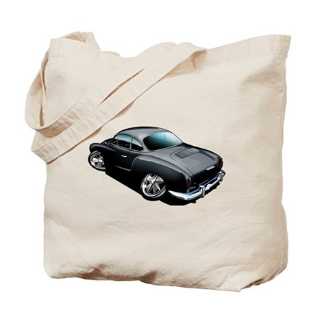 Karmann Ghia Black Tote Bag