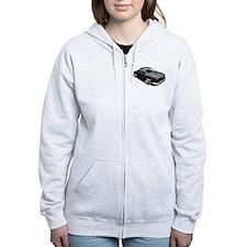 Karmann Ghia Black Zip Hoodie