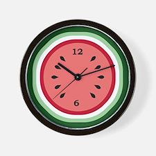 Cute Watermelon Wall Clock