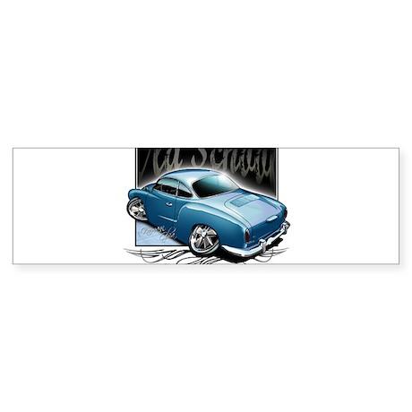 Bg Karmann Ghia Blue Bumper Sticker