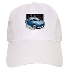 Bg Karmann Ghia Blue Baseball Cap