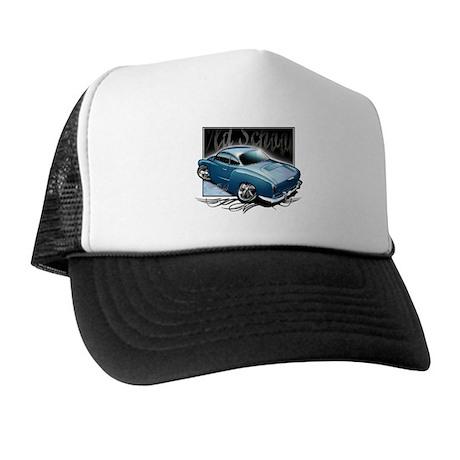 Bg Karmann Ghia Blue Trucker Hat
