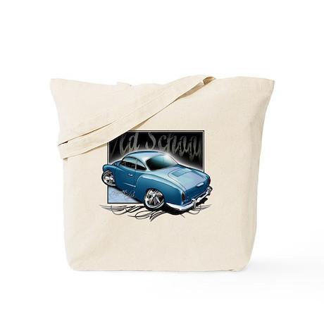 Bg Karmann Ghia Blue Tote Bag