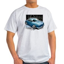 Bg Karmann Ghia Blue T-Shirt