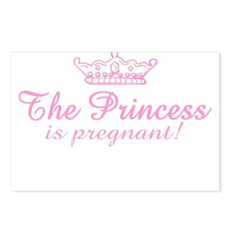 The Princess is Pregnant Postcards (Package of 8)