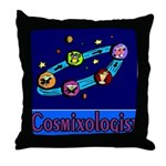 Cosmixologist Throw Pillow