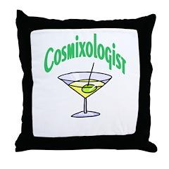 Cosmixologist Throw Pillow