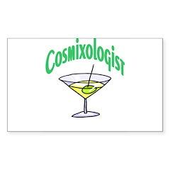 Cosmixologist Rectangle Decal