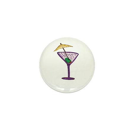 Martini Holiday Mini Button (10 pack)