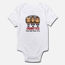 See Speak Hear No Diabetes 1 Infant Bodysuit