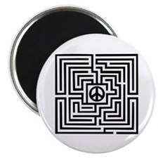 "Labyrinth - Peace 2.25"" Magnet (10 pack)"